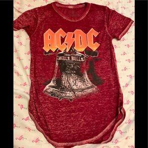 AC/DC Hells bells burnout shirt